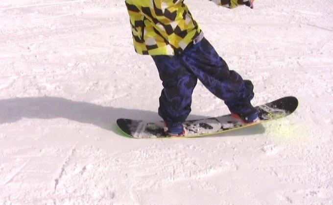 スノーボードプレス、テール