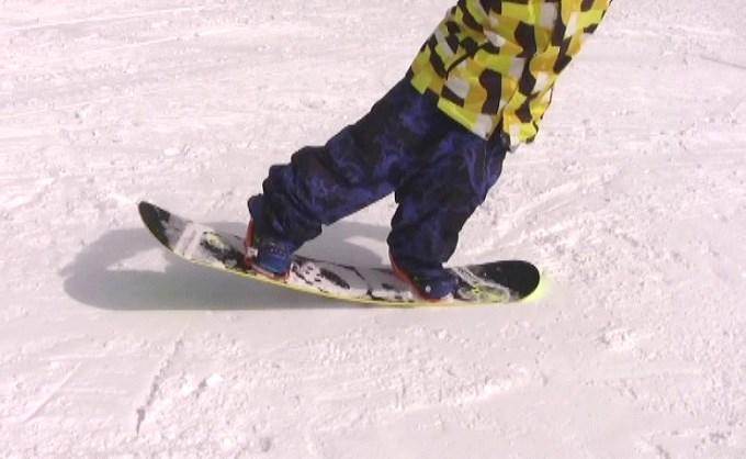 スノーボードプレス、ノーズ