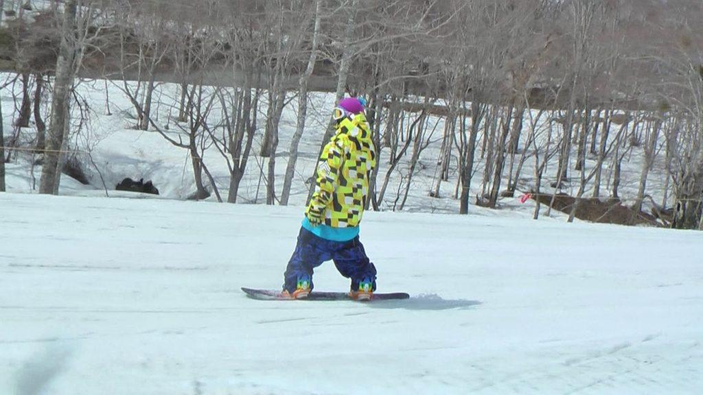 スノーボード 腰パン