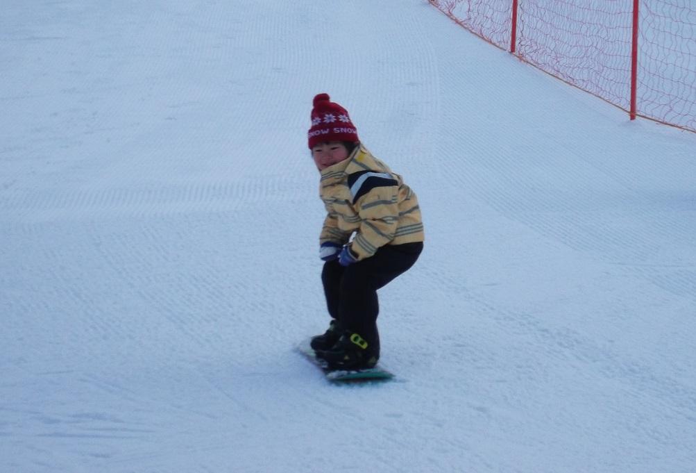スノーボード 基本姿勢