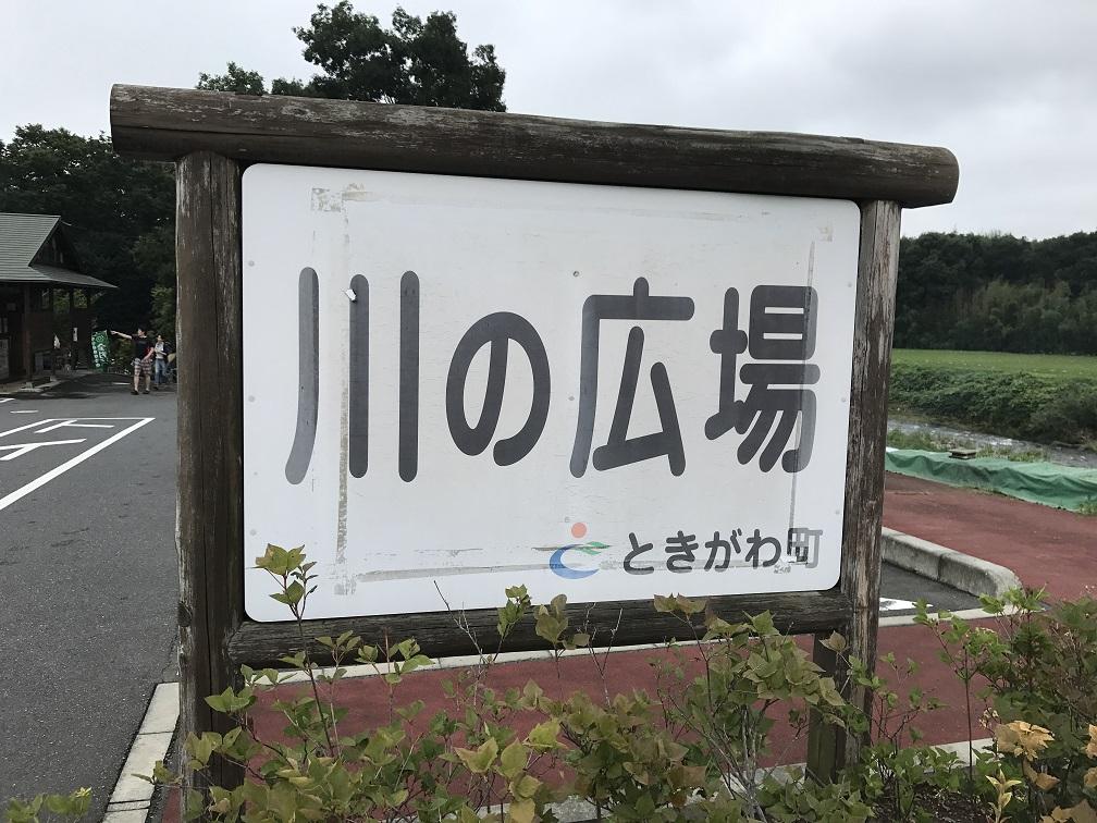 埼玉県ときがわ町、川の広場