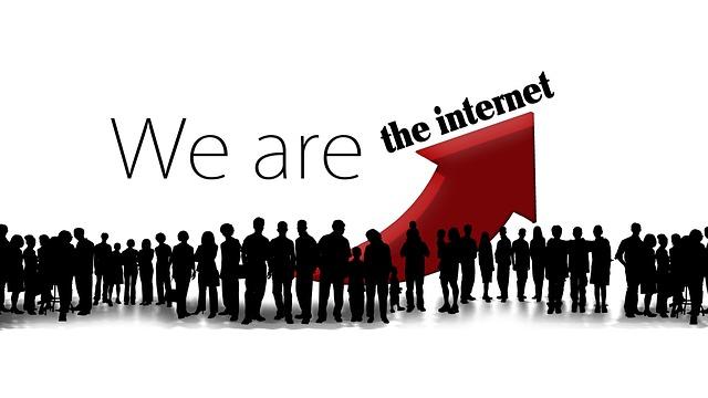 インターネットのつながり