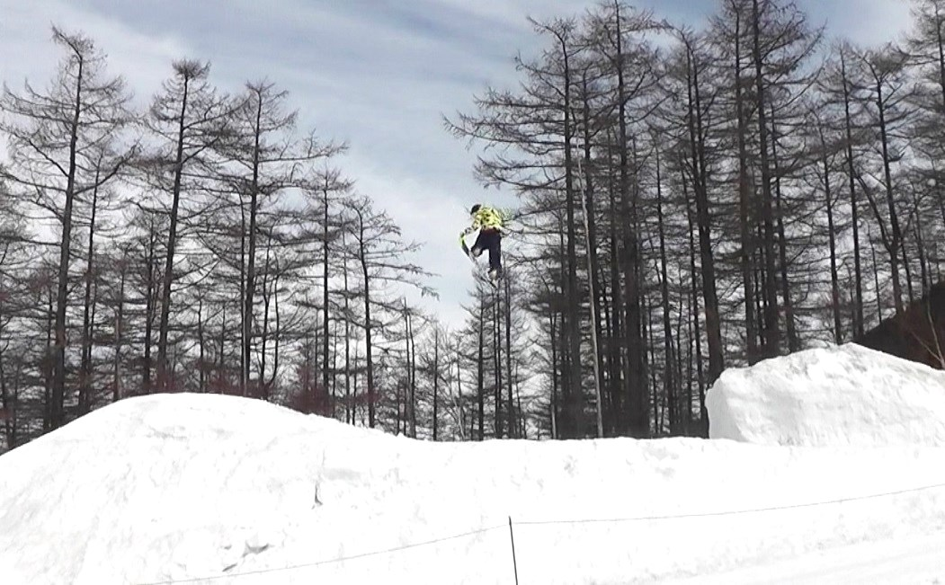 湯の丸スキー場キッカー