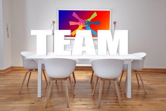 チーム、仕事、仲間、マネジメント