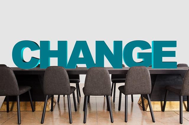 自分を変える、チェンジ、会議