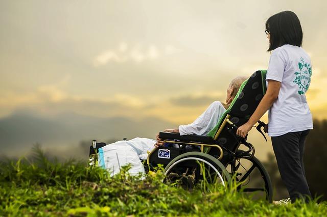 介護、車椅子