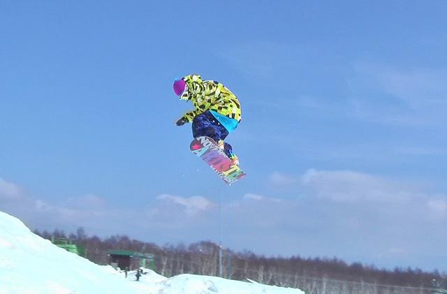 スノーボード、BS180、キッカー