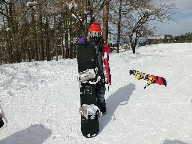 女性、スノーボード、ライス28