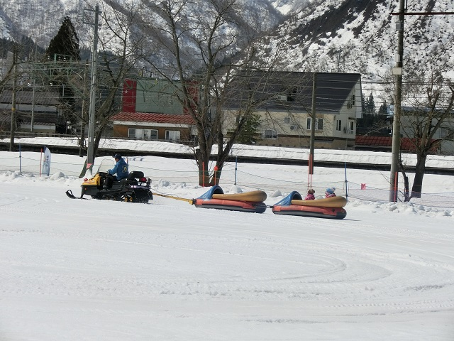 湯沢中里スノーリゾート ジェットトレインパーク2