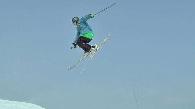 スキー360トリック(6)
