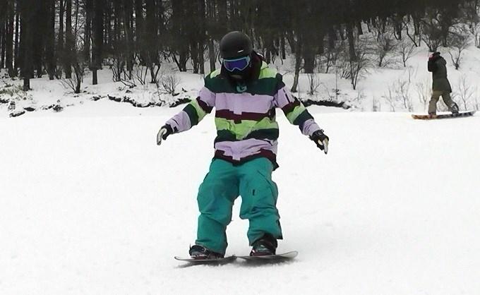 はじめてのセパレートスノーボード「ニコ」(1)