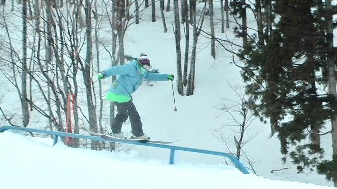 スキー、レールトリック