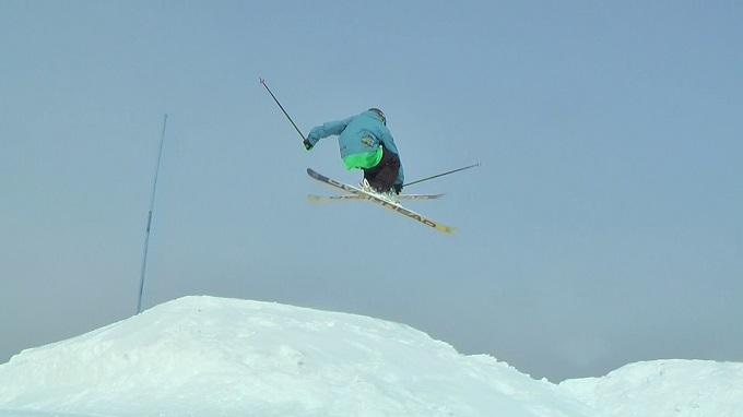 スキー360トリック(4)