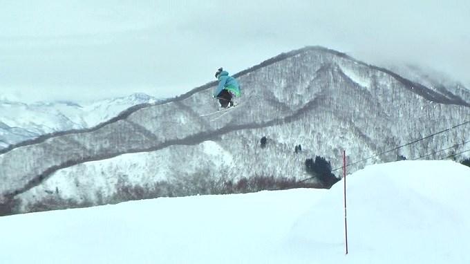 スキー、ビックキッカー