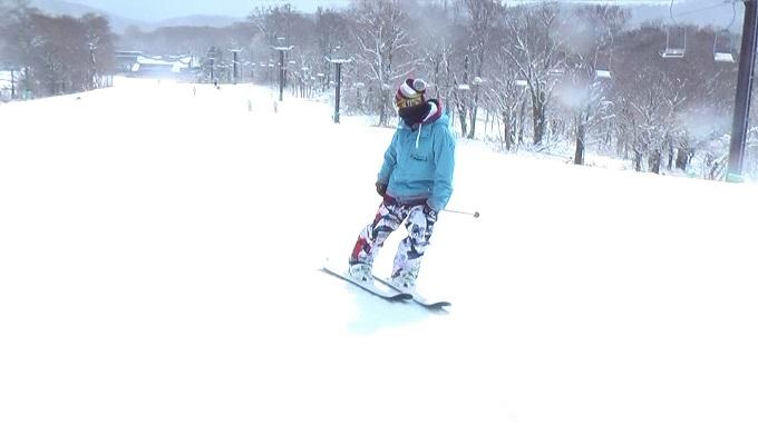 スキー、スイッチライディング