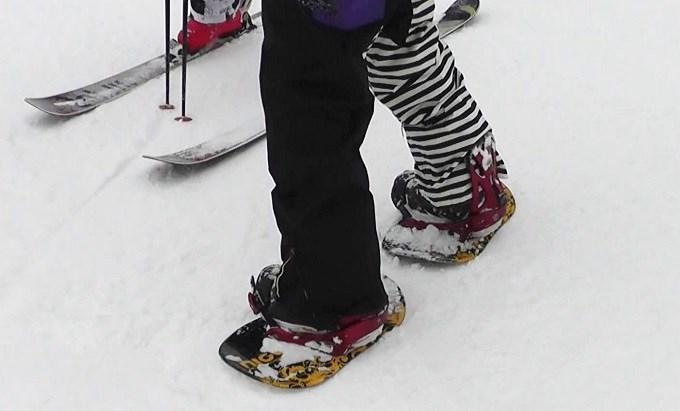 セパレートスノーボード「ニコ」(1)