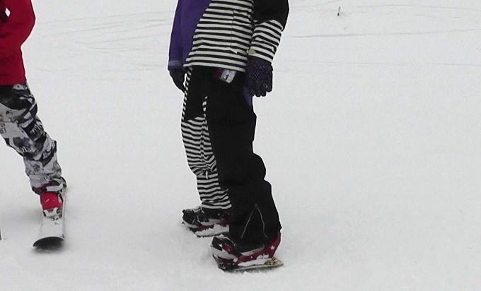 セパレートスノーボード「ニコ」(2)