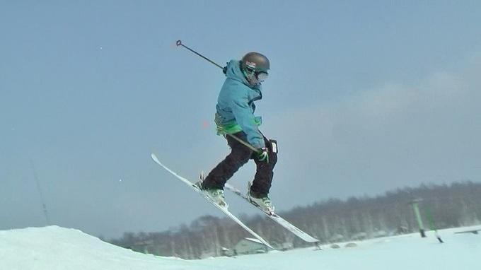 スキー360トリック(8)