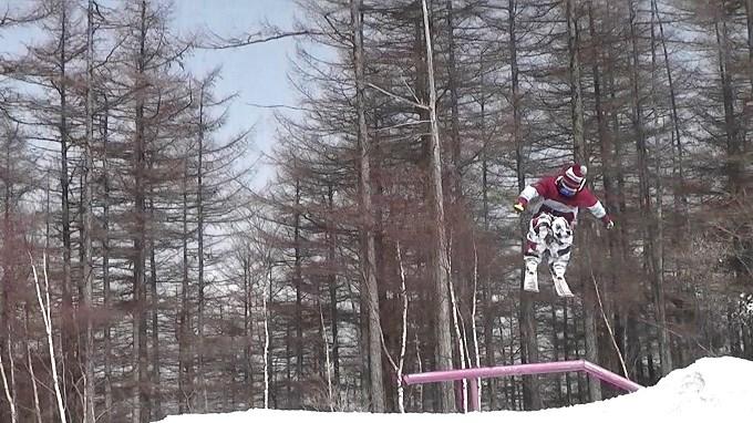 スキー、360トリック