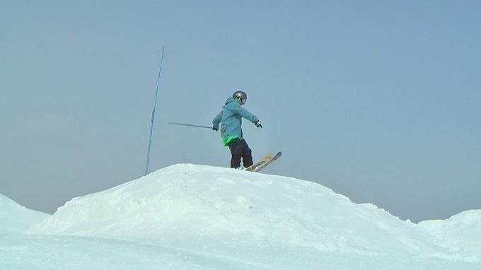 スキー360トリック(3)