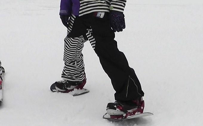 セパレートスノーボード「ニコ」(3)