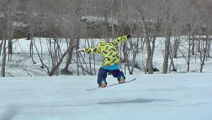 スノーボードグラトリのノーリー(5)