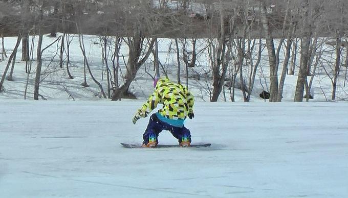 スノーボードグラトリのノーリー(8)