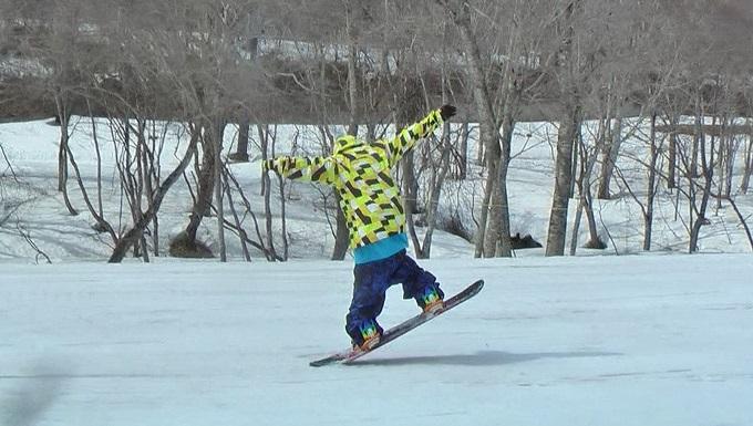 スノーボードグラトリのノーリー(4)