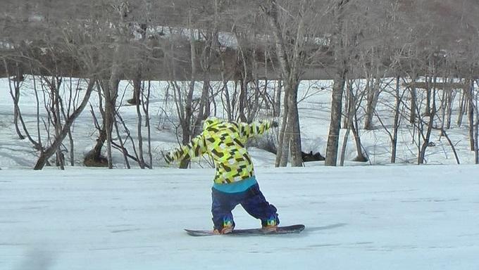 スノーボードグラトリのノーリー(2)