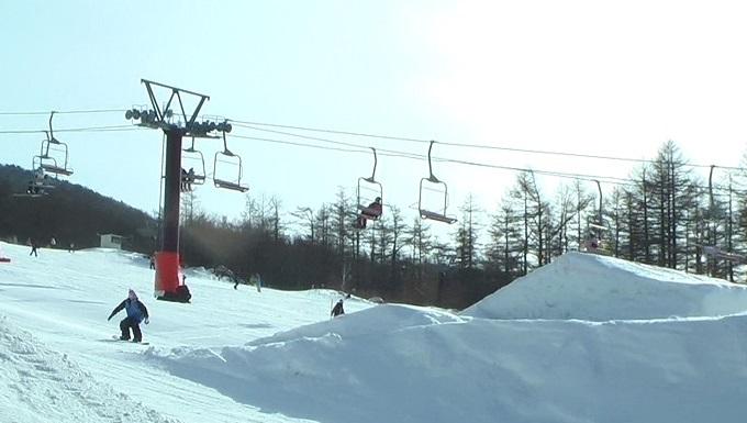 スノーボードキッカーへのアプローチスピード出過ぎ(1)