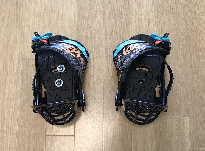 K2スノーボードBOYS GROM PACKAGEビンディング(4)