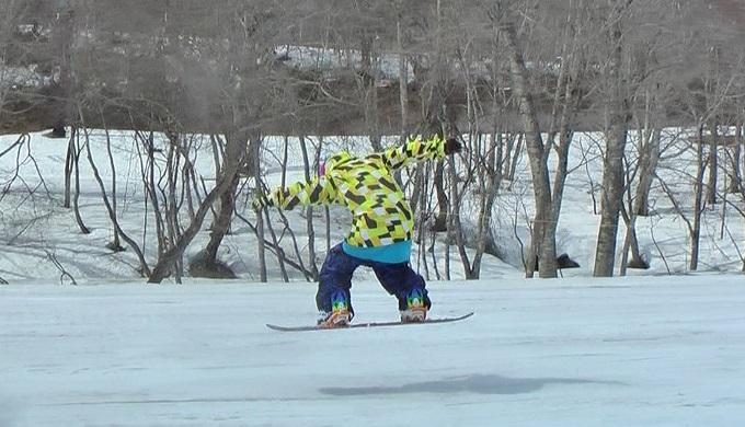 スノーボードグラトリのノーリー(6)