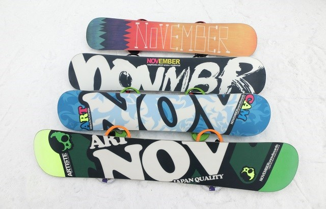 スノーボード、ノベンバーアーティスト