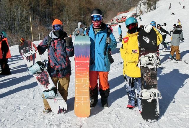 スノーボード、キャピタ、ノベンバー